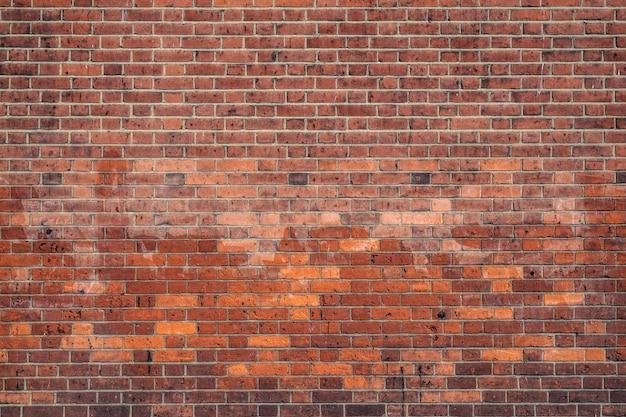 Parede de tijolos vermelhos