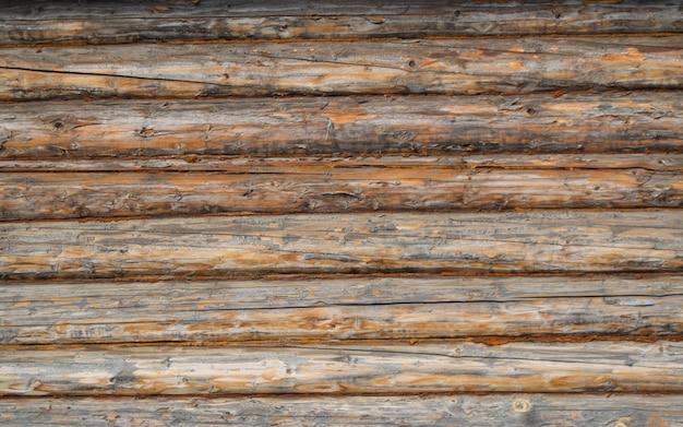 Parede de troncos velhos, macro. fundo, textura