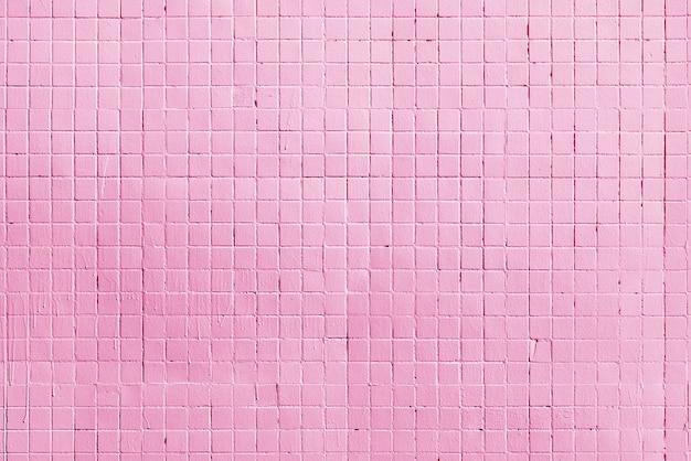 Parede do prédio de tijolos rosa. fundo