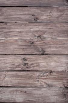 Parede feita de tábuas de madeira