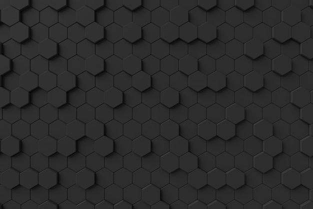 Parede moderna. renderização em 3d.