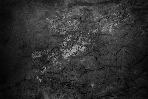 Parede preta abstrata, textura de cimento escuro como pano de fundo