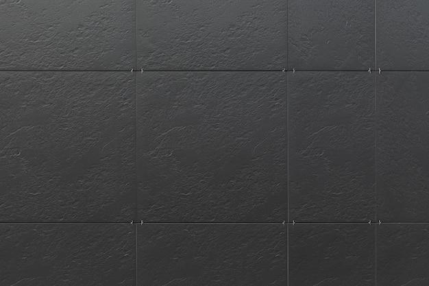 Parede preta do edifício, textura de listras