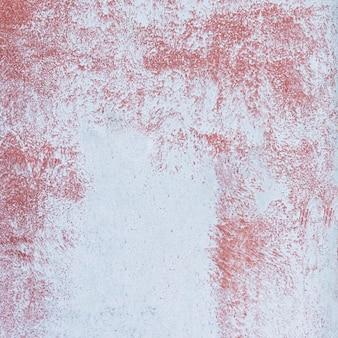 Parede sólida pintada de vermelho