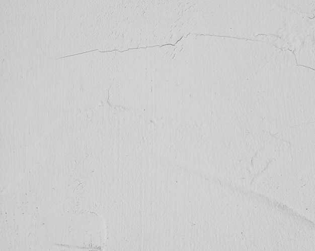 Parede texturizada branca pintada