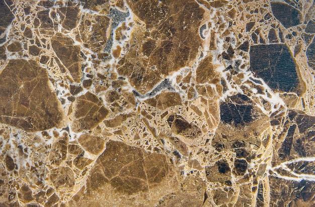 Parede texturizada de mármore marrom