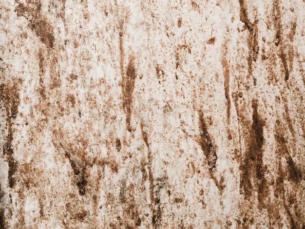 Parede texturizada manchada desarrumado