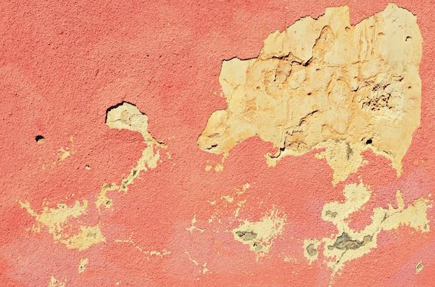 Parede vintage concreto rachado. antigo plano de fundo texturizado. espaço da cópia