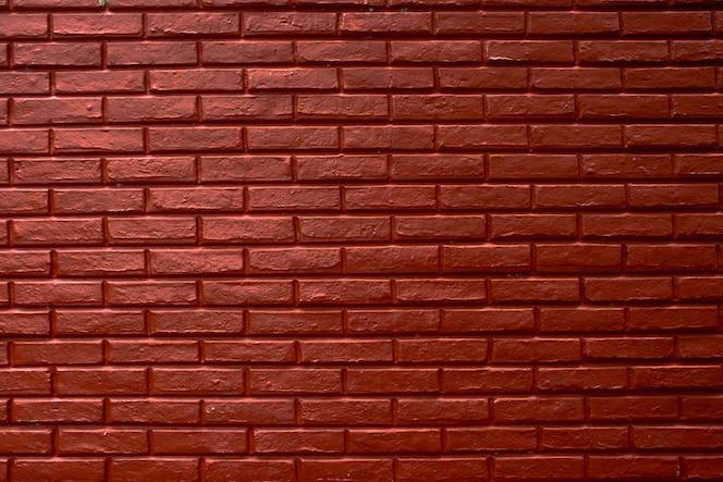 Paredes de bloco de tijolo vermelho, fundo abstrato textura de cimento vermelho
