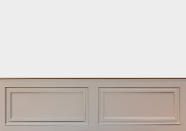 Paredes interiores com espaço de cópia. paredes com molduras