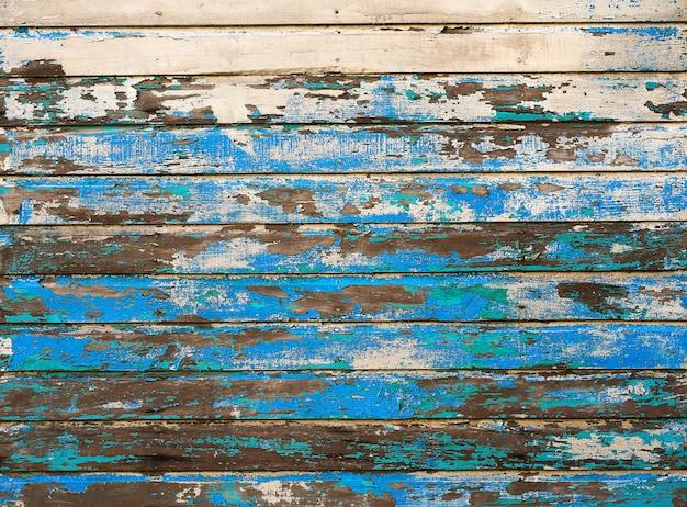 Paredes pintadas de madeira do caribe mahahual
