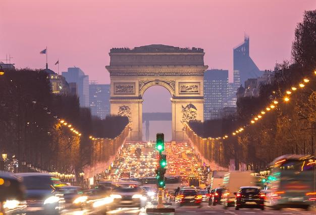 Paris arco do triunfo