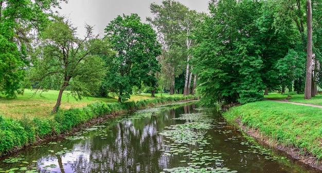 Parque de alexandria em bila tserkva, ucrânia