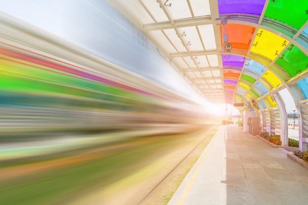 Parque de energia alternativa transporte público