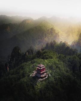 Parque florestal nacional de zhangjiajie, china