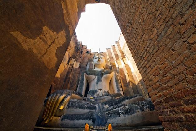 Parque histórico de sukhothai, tailândia, patrimônio mundial