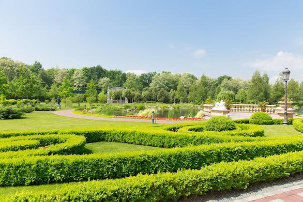 Parque luxuoso
