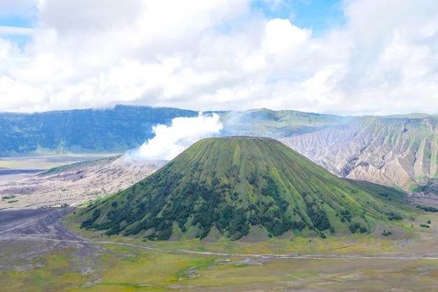 Parque nacional bromo tengger semeru na indonésia