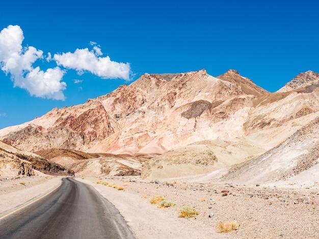 Parque nacional do vale da morte em nevada, eua