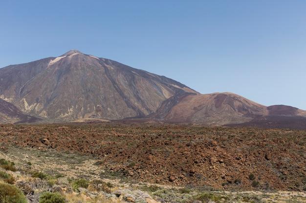Parque nacional do vulcão teide, tenerife.