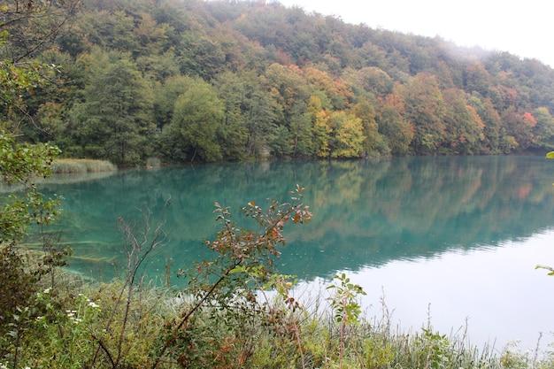 Parque nacional dos lagos plitvice (plitvička jezera)