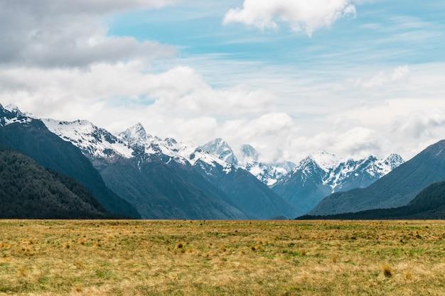 Parque nacional fiordland, nova zelândia