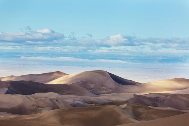 Parque nacional great sand dunes, colorado, eua
