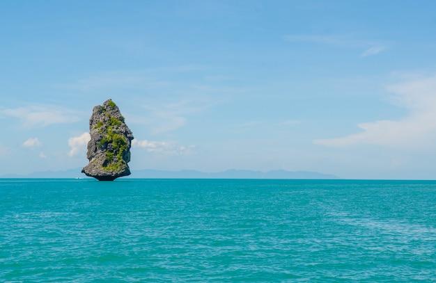 Parque nacional marinho de angthong, koh samui, suratthani, tailândia
