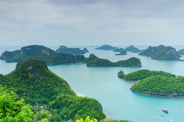 Parque nacional mu ko ang thong, ilha samui, tailândia