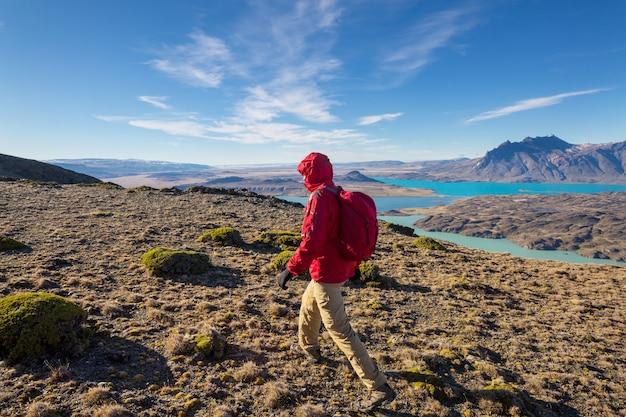 Parque nacional perito moreno, patagônia, argentina