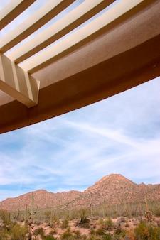 Parque nacional saguaro no arizona