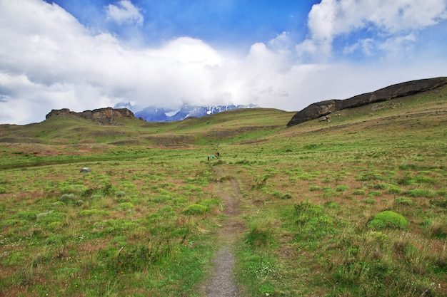 Parque nacional torres del paine, patagonia, chile