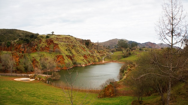 Parque natural cabarceno, cantábria, espanha