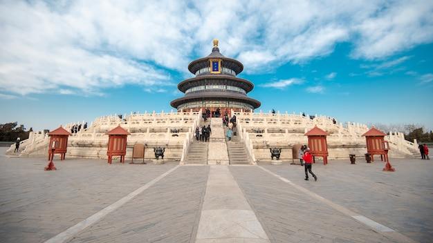 Parque tiantan em pequim, china
