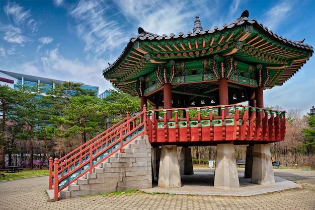 Parque yeouido em seoul, coréia
