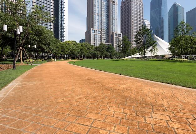 Parques e arquitetura moderna