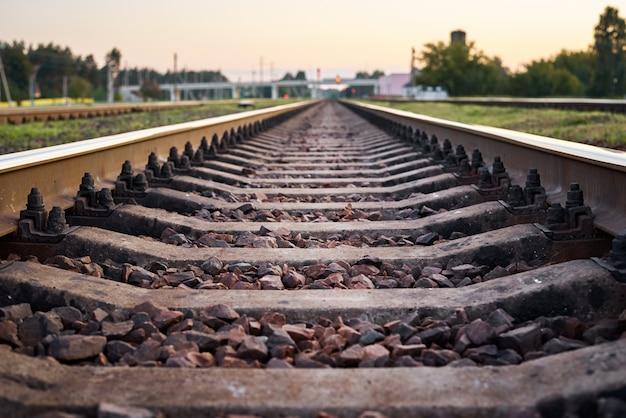 Parte da ferrovia