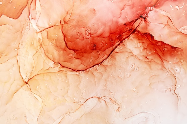 Parte do fundo original de pintura a tinta de álcool