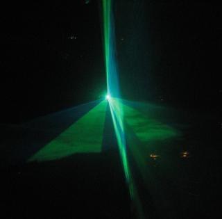 Parte do laser, laser
