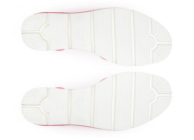 Parte inferior dos sapatos, isolada.