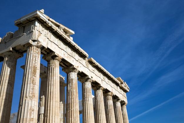 Partenon na acrópole