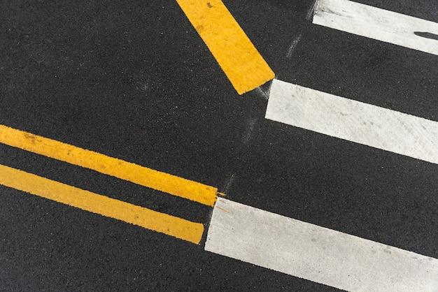 Passadeiras de pedestres closeup