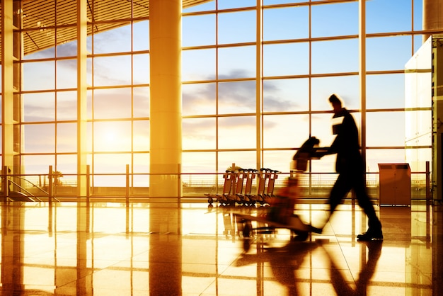 Passageiro do aeroporto