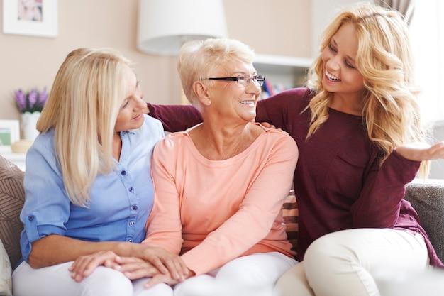 Passando bons momentos com a família