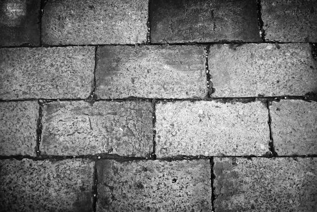 Passarela de tijolo