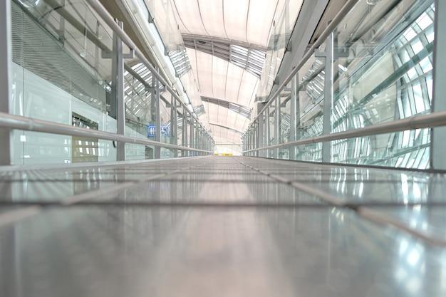 Passarela do aeroporto de suwannabhumi