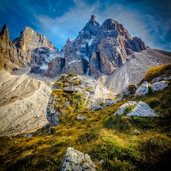 Passo rolle alps detail