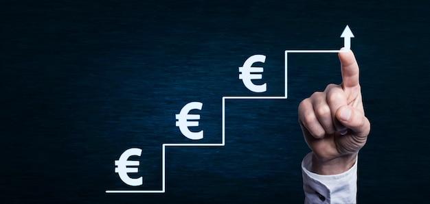 Passos para o sucesso e crescimento do conceito de dinheiro