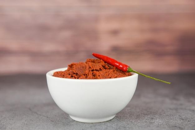 Pasta de curry e malagueta vermelha