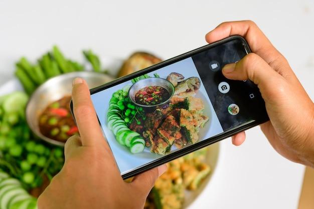 Pasta de pimentão cavala é outro prato popular para tailandeses e turistas que visitam a tailândia.